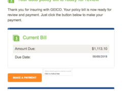 Potential Geico Phishing Attempt 3