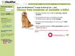Potential MyCheckFree Phishing Website 1