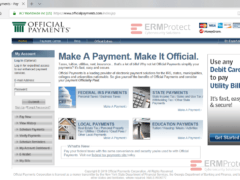Potential OfficalPayments Phishing Website 4