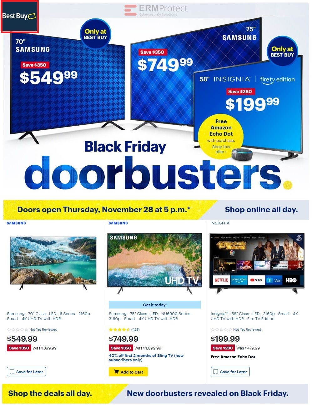 Best Buy Black Friday Phishing Scam Red Flags 4