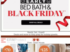 Potential Bed Bath & Beyond Black Friday phishing scam 3