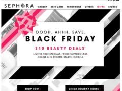 Potential Sephora black friday phishing attempt 2